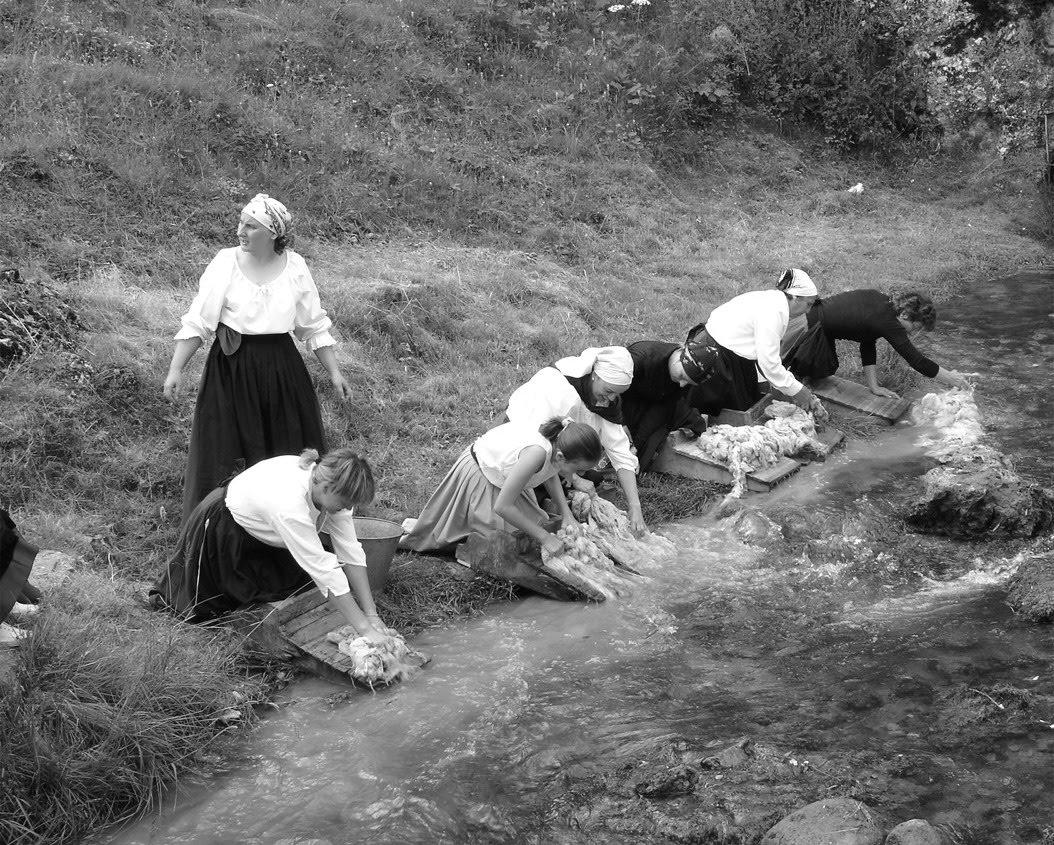 Lavar la lana noguera de albarrac n - Lavar alfombra de lana en lavadora ...